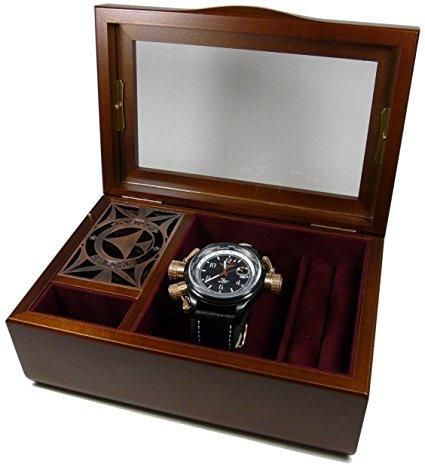 未使用品☆スカイ・クロラ 腕時計 押井守モデル ドイツ エアロマチック1912社製 限定500個 オルゴール小物箱入 メンズ