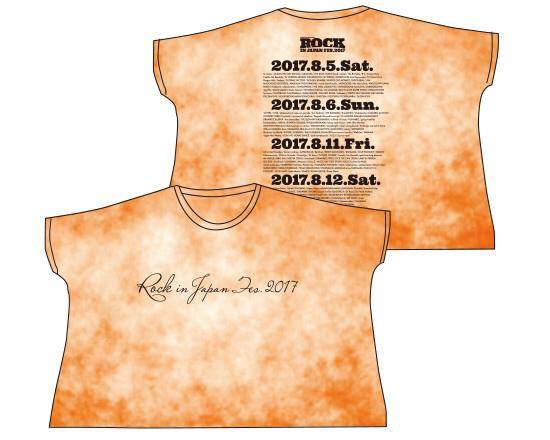 【新品】ROCK IN JAPAN 2017 BIG Tシャツ