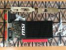 【送料無料】MSI GeForce GT710 ファンレス/ロープロファイル対応/DDR3 2GB/PCI-E/DVI-D/HDMI/GT 710 2GD3H LP