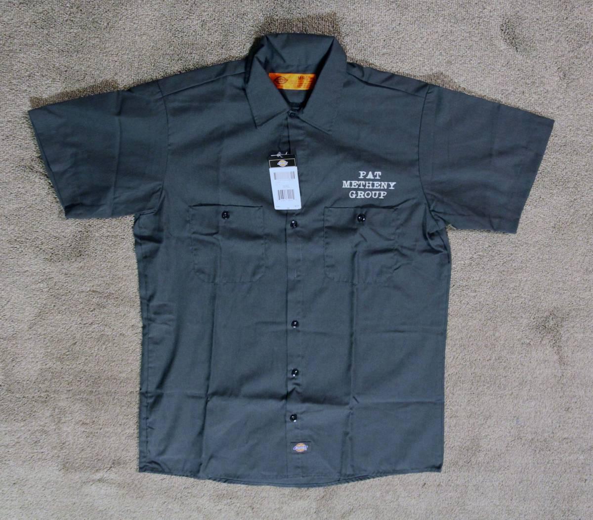 新品 pat metheny group (パットメセニーグループ)dickiesシャツ サイズL 美品