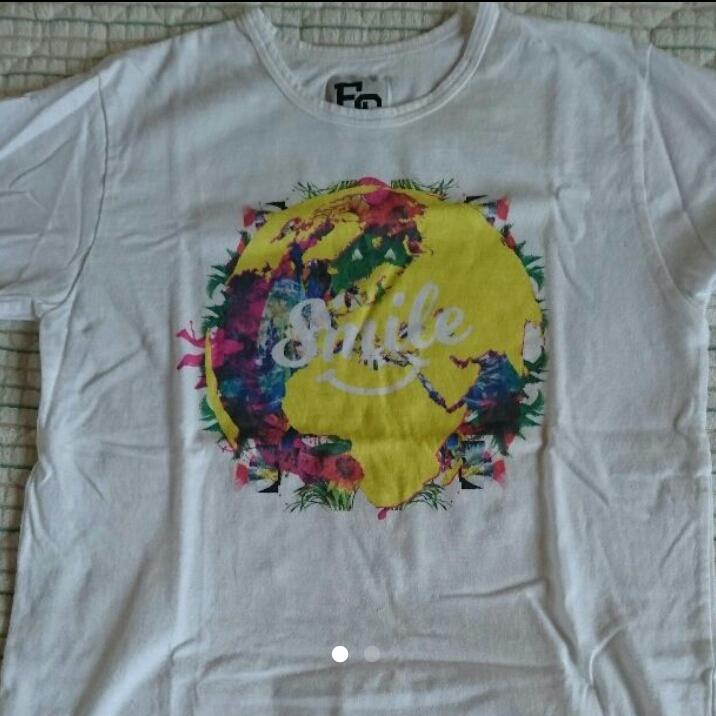 E-girls Tシャツ EG SMILE ライブグッズの画像