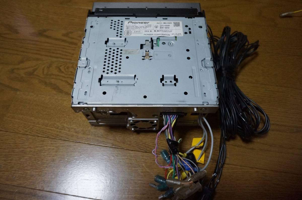 カロッツェリア 楽ナビ AVIC-MRZ009 動作確認済み HDD パイオニア 地デジ フルセグ_画像3