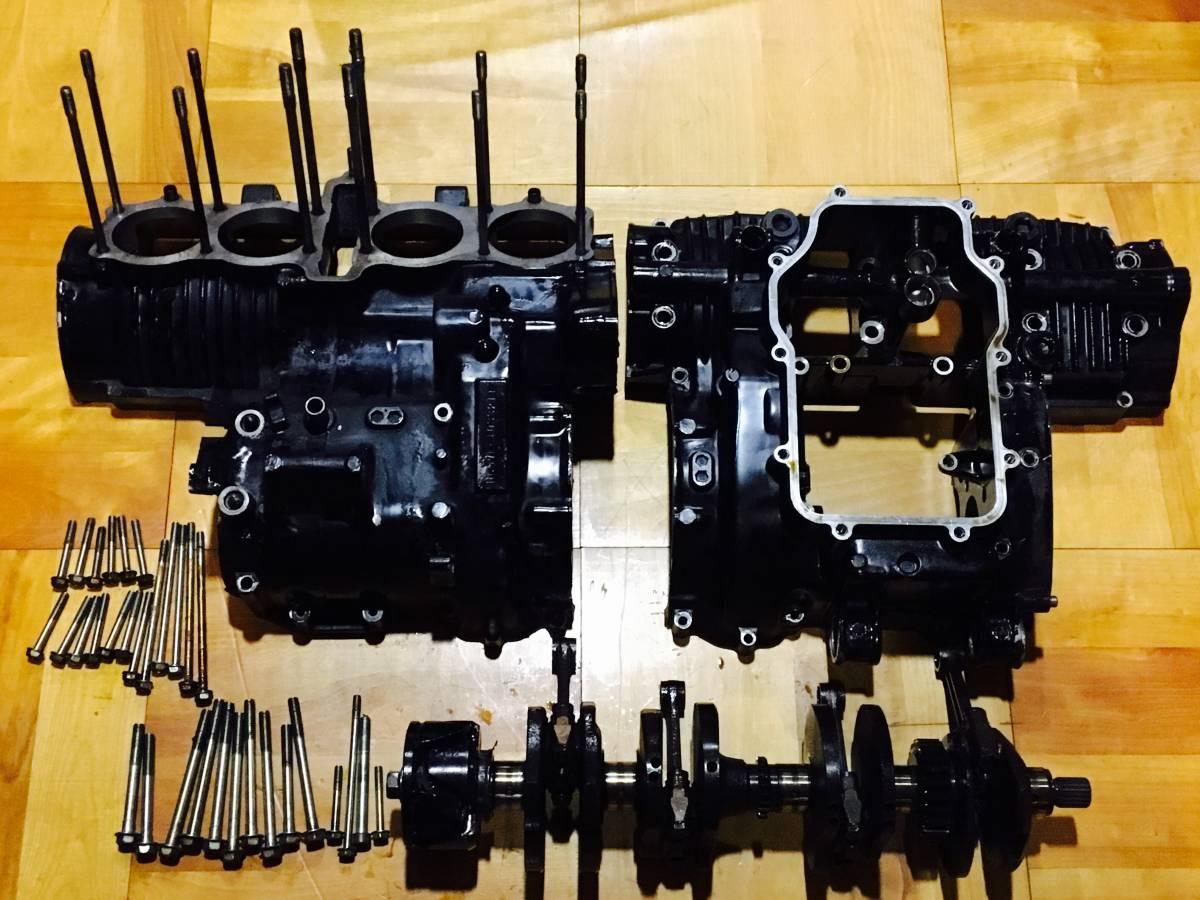 ★1円スタート 希少 CBX400F 1型 クランクケース クランクシャフト コンロッド セット