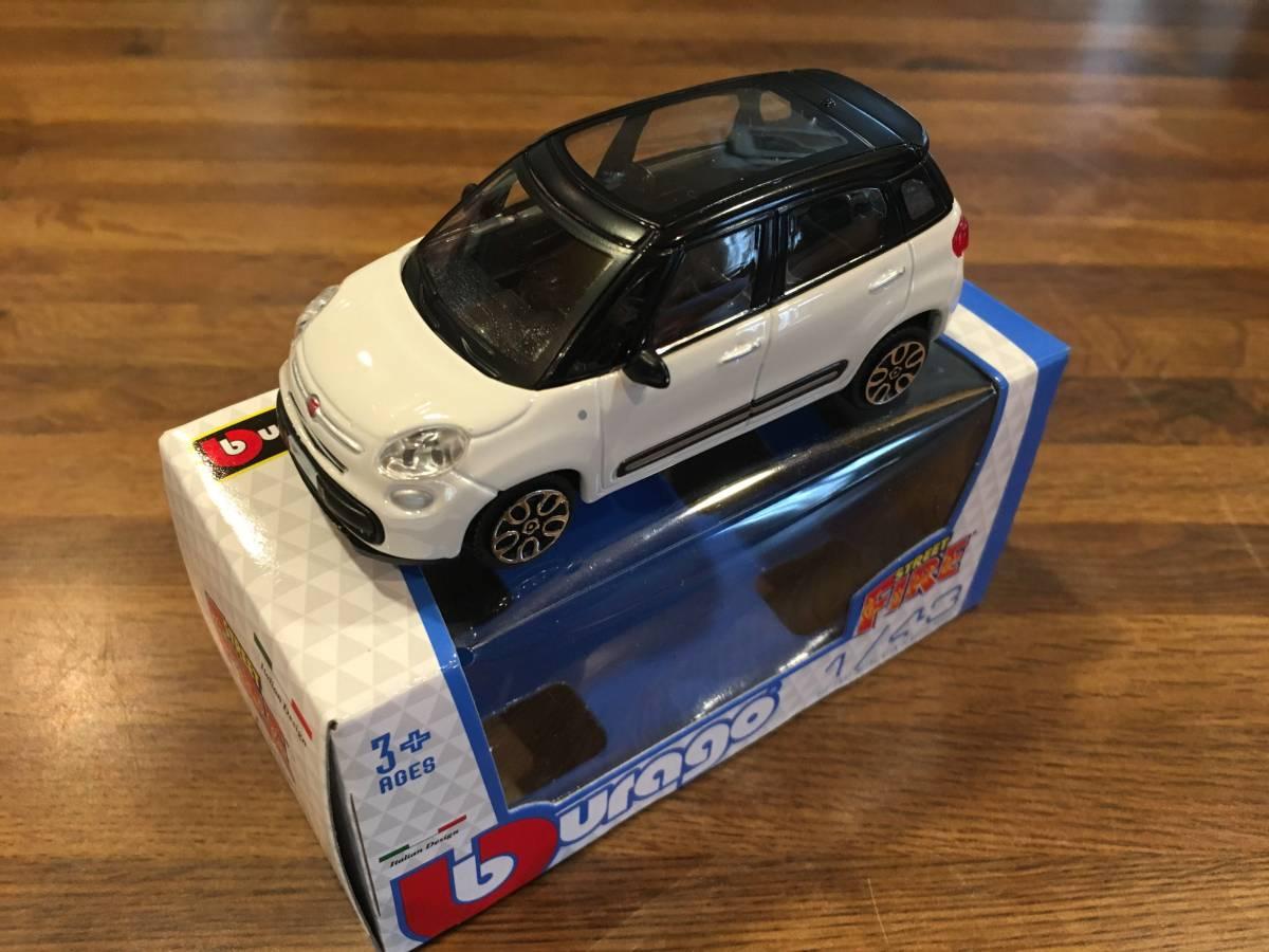 新品 イタリア直輸入 1/43 bブラーゴ 日本未発売 フィアット 500L