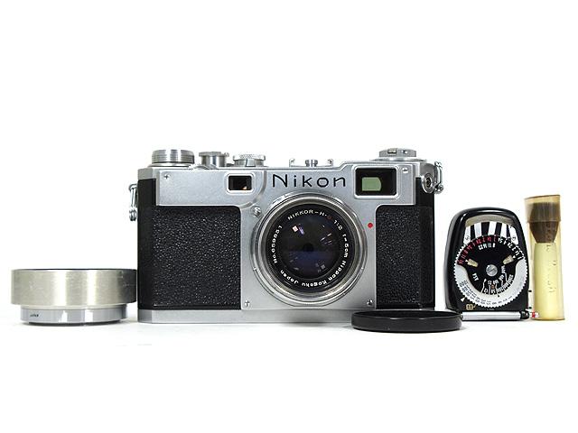 1円~ Nikon/ニコン NIPPON KOGAKU TOKYO フィルムカメラ 本体 ◆ NIKKOR-H・C 1:2 f=5cm レンズ アクセサリー付 【ジャンク品】 20064784