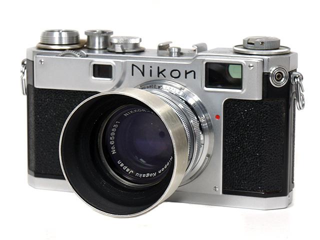 1円~ Nikon/ニコン NIPPON KOGAKU TOKYO フィルムカメラ 本体 ◆ NIKKOR-H・C 1:2 f=5cm レンズ アクセサリー付 【ジャンク品】 20064784_画像2