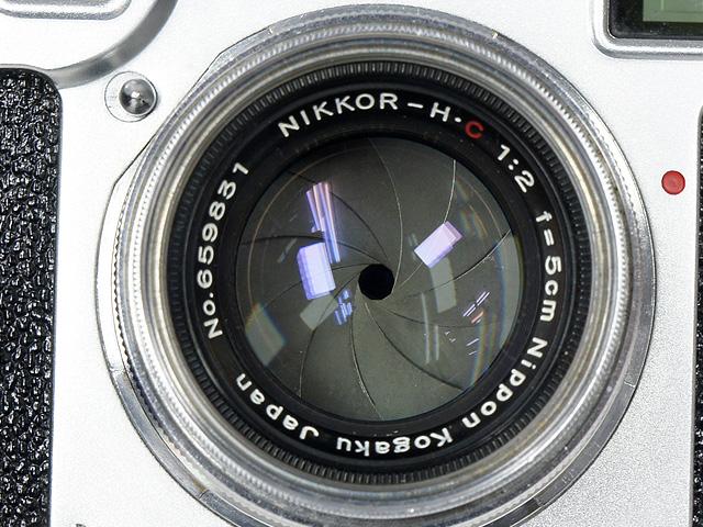 1円~ Nikon/ニコン NIPPON KOGAKU TOKYO フィルムカメラ 本体 ◆ NIKKOR-H・C 1:2 f=5cm レンズ アクセサリー付 【ジャンク品】 20064784_画像8
