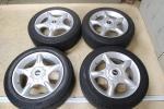 BMW ミニ 純正アルミホイール 16インチ 4穴 6.5J 4本 タイヤ DUNLOP LEMANS LM704