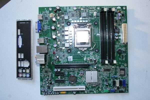 Dell Inspiron 580/580s マザーボード LGA1156 I3 530 動作確認済