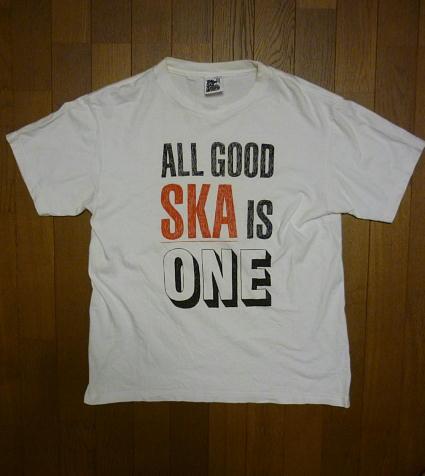 東京スカパラダイスオーケストラ『 ALL GOOD SKA is ONE 半袖Tシャツ 』