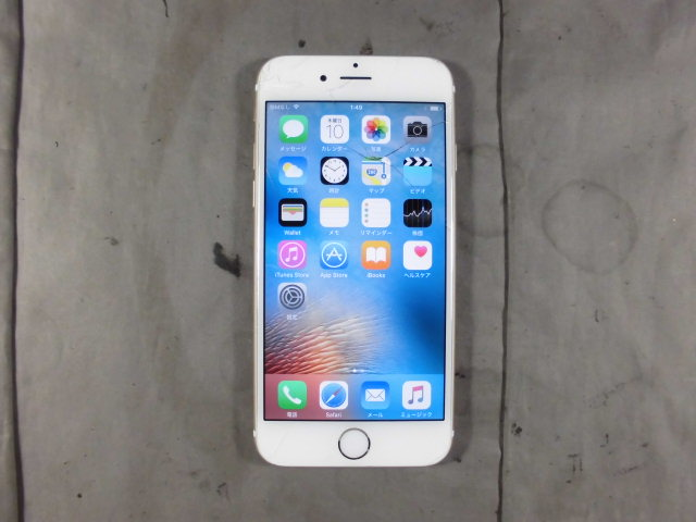 『割れ有り』 『64GB』 SoftBank iPhone6 MG4J2J/A