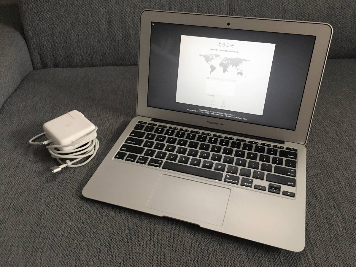 中古 macbook air 2011 mid 11インチ Core i7 2GHz /8GB/ SSD251GB