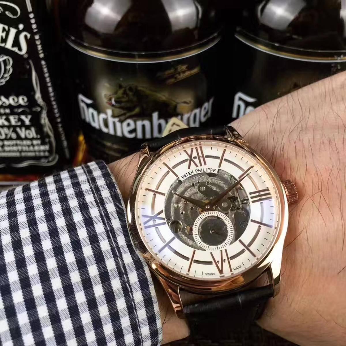新品 パテックフィリップ 男性用腕時計 メンズ Patek Philippe 自動巻き ステンレス