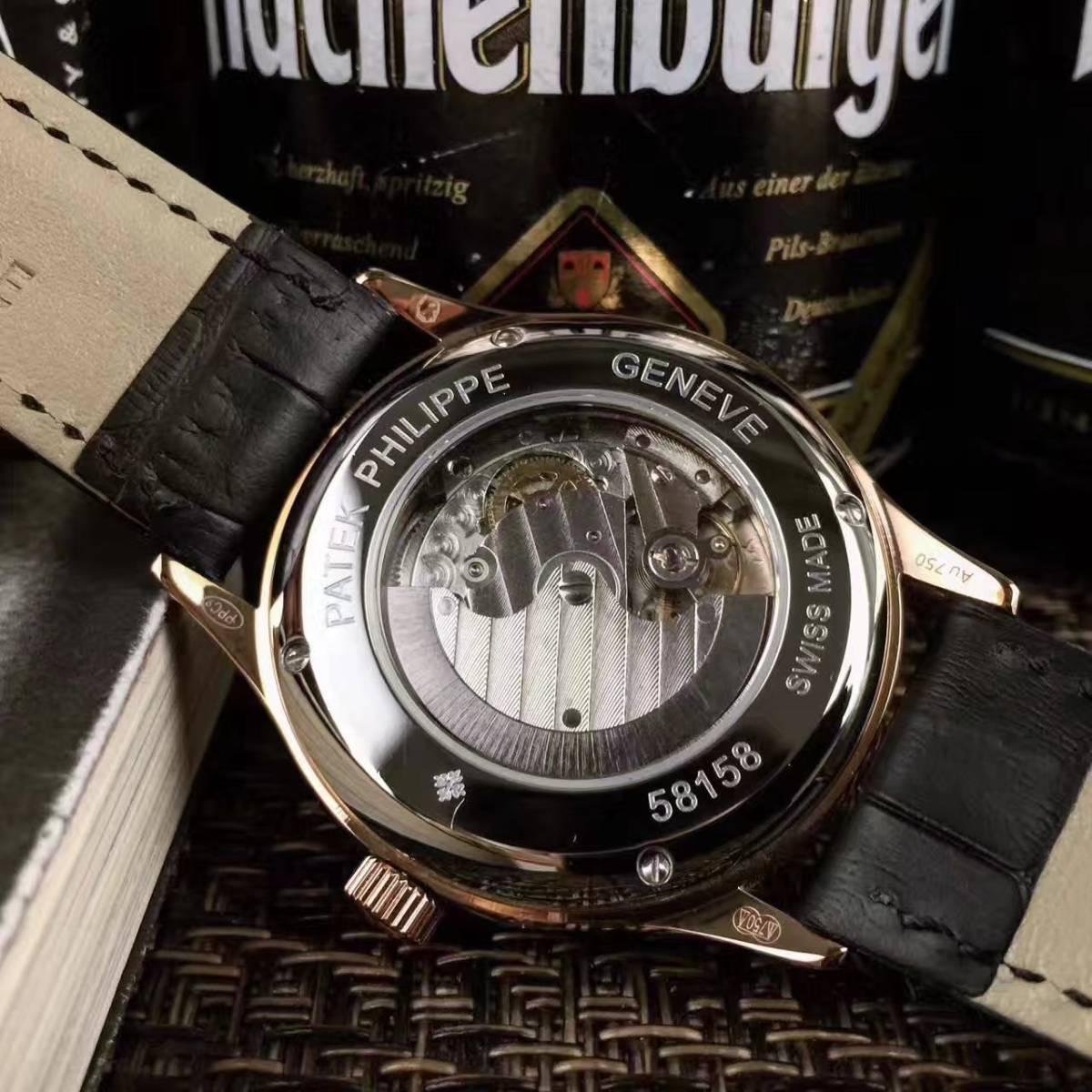 新品 パテックフィリップ 男性用腕時計 メンズ Patek Philippe 自動巻き ステンレス_画像3