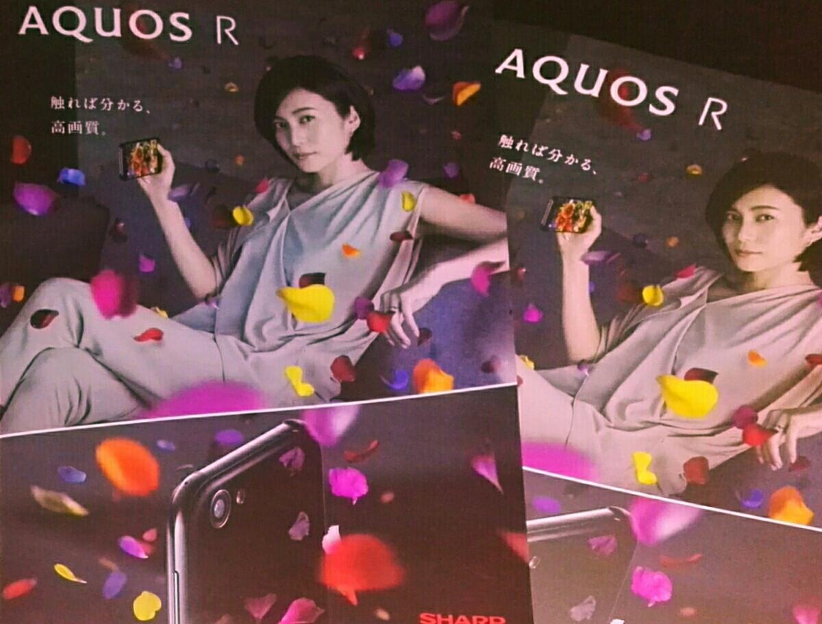 貴重非売品◆柴咲コウ A4クリアファイル*カタログ付き*AQUOS R  ライブグッズの画像