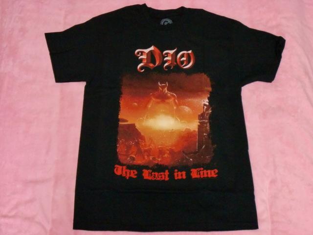 DIO ディオ Tシャツ M バンドT ロックT Rainbow Black Sabbath