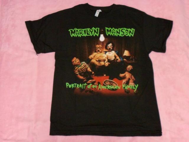 MARILYN MANSON マリリン マンソン Tシャツ M バンドT ロックT Slipknot