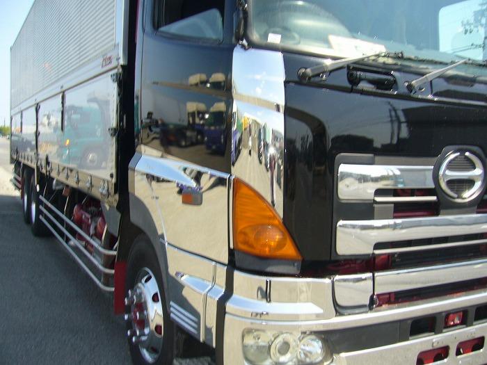 「日野グランドプロフィア 25tアルミウィング 7速 エアサス NOX/PM適合 大型 中古トラック下取買取販売」の画像1