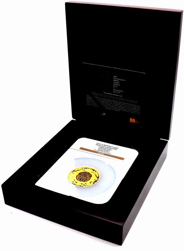 発行25枚 イギリス 2015 シャーロット王女 洗礼記念 500ポンド 金貨 NGC GEM PROOF_画像3