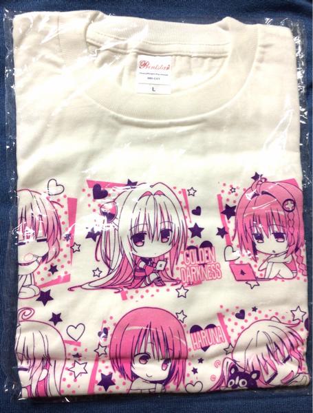 【新品】ToLOVEる とらぶる ダークネス Tシャツ Lサイズ グッズの画像