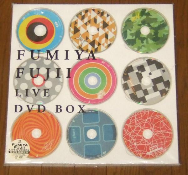 新品 FUMIYA FUJII LIVE DVD BOX 藤井フミヤ ライブグッズの画像