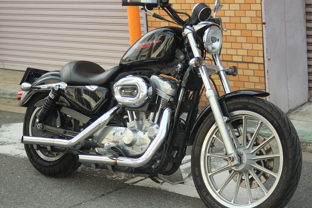 * XL883-I /FIモデル スポーツスター ☆ピッカピカの綺麗な1台☆ 状態良好/40106km/2008
