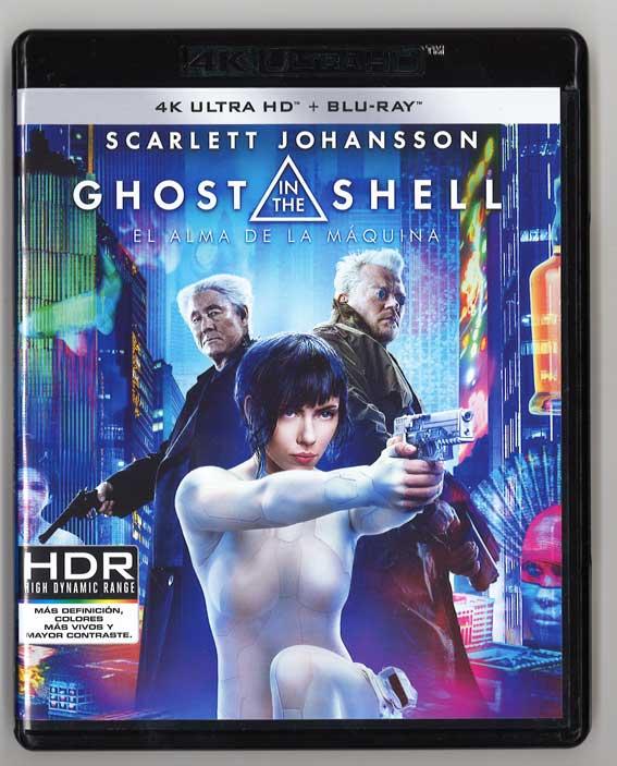 ゴースト・イン・ザ・シェル(4K ULTRA HD + Blu-ray)スペイン発売版 ※4K ULTRA HD、Blu-