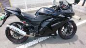 カワサキ NINJA 250R ニンジャ 250R カスタム 程度良 自賠責33年5月 タイヤ交換済み おまけつき