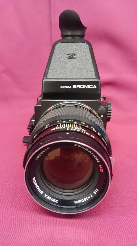 ゼンザブロニカ ETRS ZENZANON MC 1:4 f=150mm 現状品 B*i6699*-038_画像2