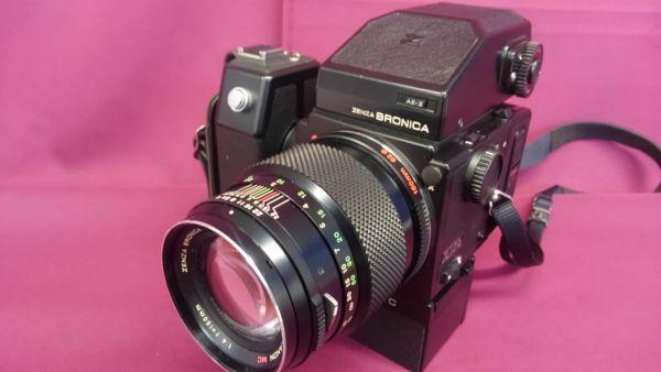 Bronica ブロニカ ETRS ZENZANON MC 150mm F4 現状品 B*i6693*-064