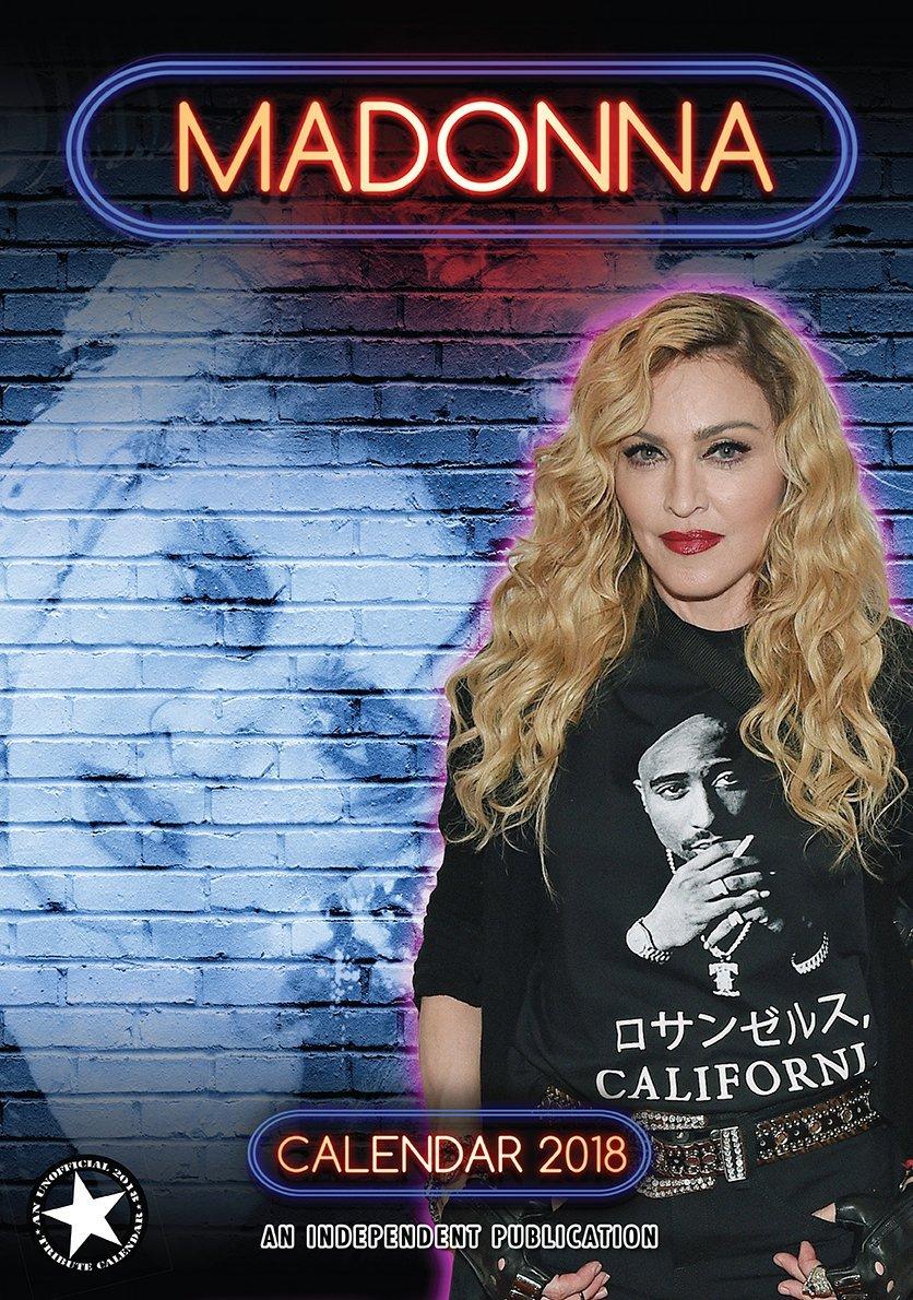 ★新品★送料無料★マドンナ Madonna★2018 カレンダー