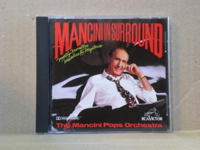 マンシーニ・イン・サラウンド~数多くのテレビ・映画音楽に関わったサウンドトラックの大御所ヘンリー・マンシーニのレアCD_画像1