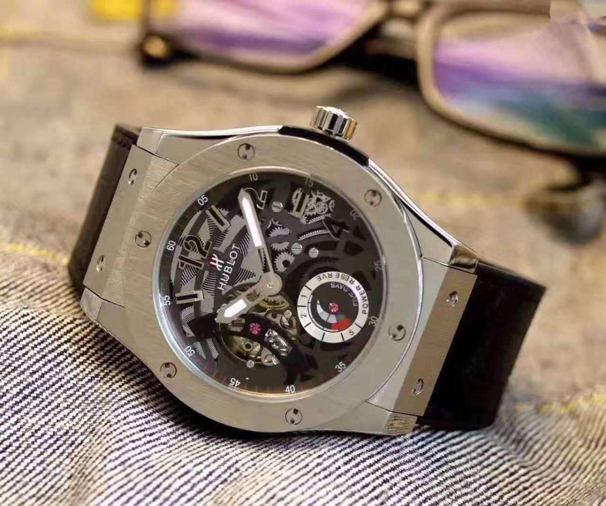 新品 自動巻き Hublot ウブロ 高級感 メンズ腕時計  男性用