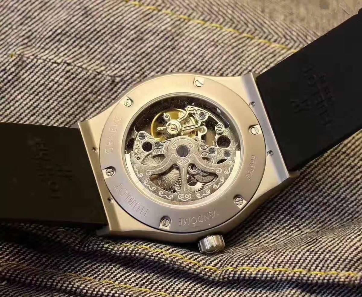 新品 自動巻き Hublot ウブロ 高級感 メンズ腕時計  男性用_画像2