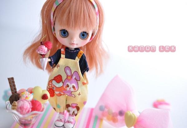 Kanom Lek カスタムプチブライス **ice cream**