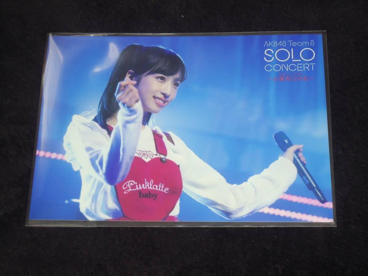 AKB48 チーム8 SOLO CONCERT 新春!チーム8祭り DVD 封入特典 生写真 小栗有以 ~小栗有以の乱~ ライブ・総選挙グッズの画像
