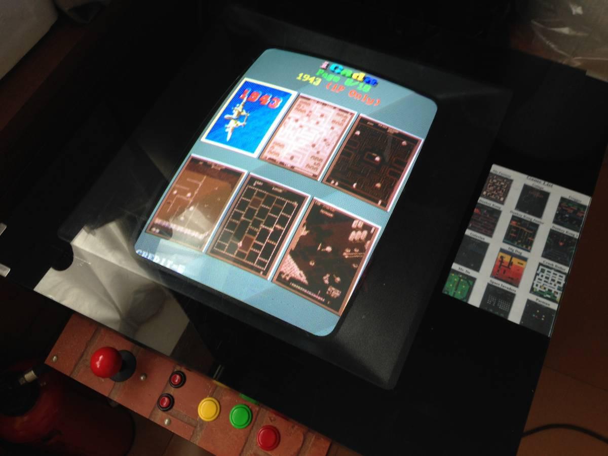 アーケードゲーム 60種ゲーム入ってます コントローラ良好 100円は不要 100v ヤマト家財便送料別にて_コントローラ ボタンくたびれ無し