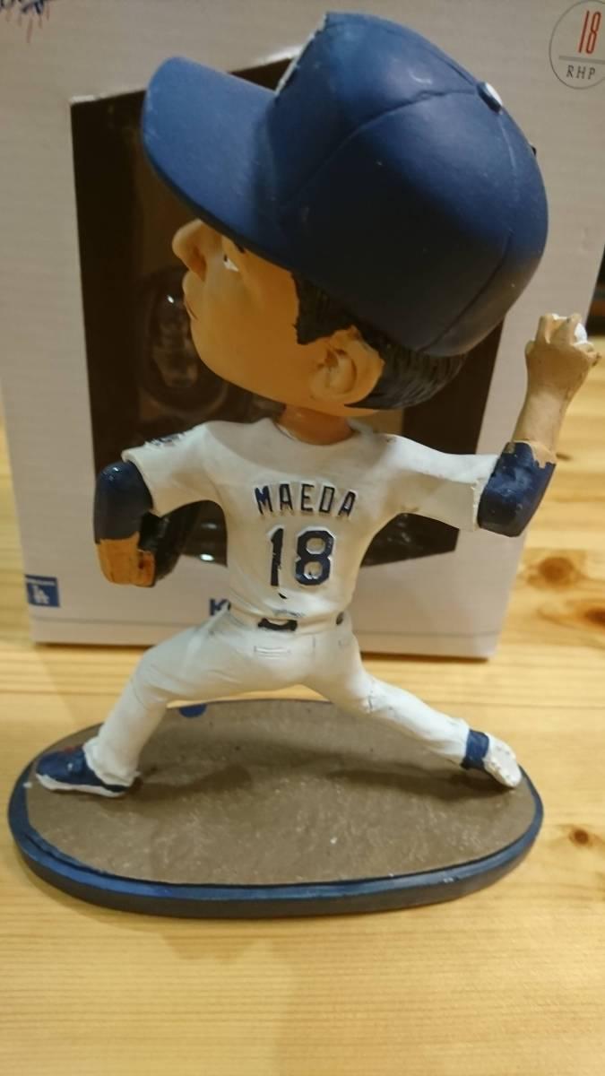 前田 健太 バブルヘッド ボブルヘッド フィギュア MLB ドジャース グッズの画像