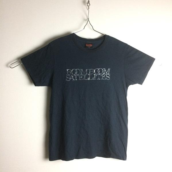 好デザイン★【BOOM BOOM SATELLITES ブンブンサテライツ】黒ブラック★半袖Tシャツ S★バンドTシャツ/ロックTシャツ