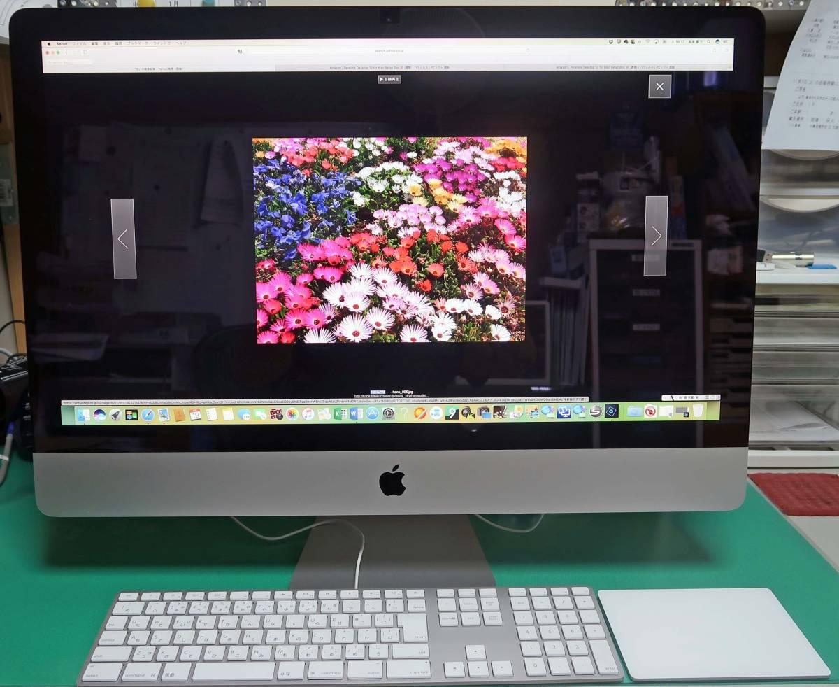 ★☆ 超美品 iMac (Retina 5K, 27-inch, Late 2015) AppleCare2019/6/22まで保証 ☆★