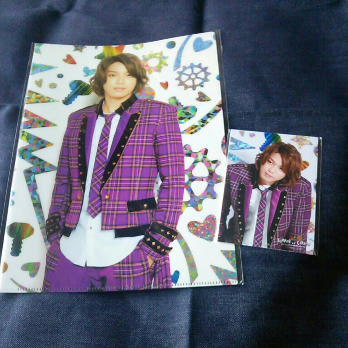 Hey!Say!JUMP 高木雄也 クリアファイル 写真 jumping COUNT Down 2015