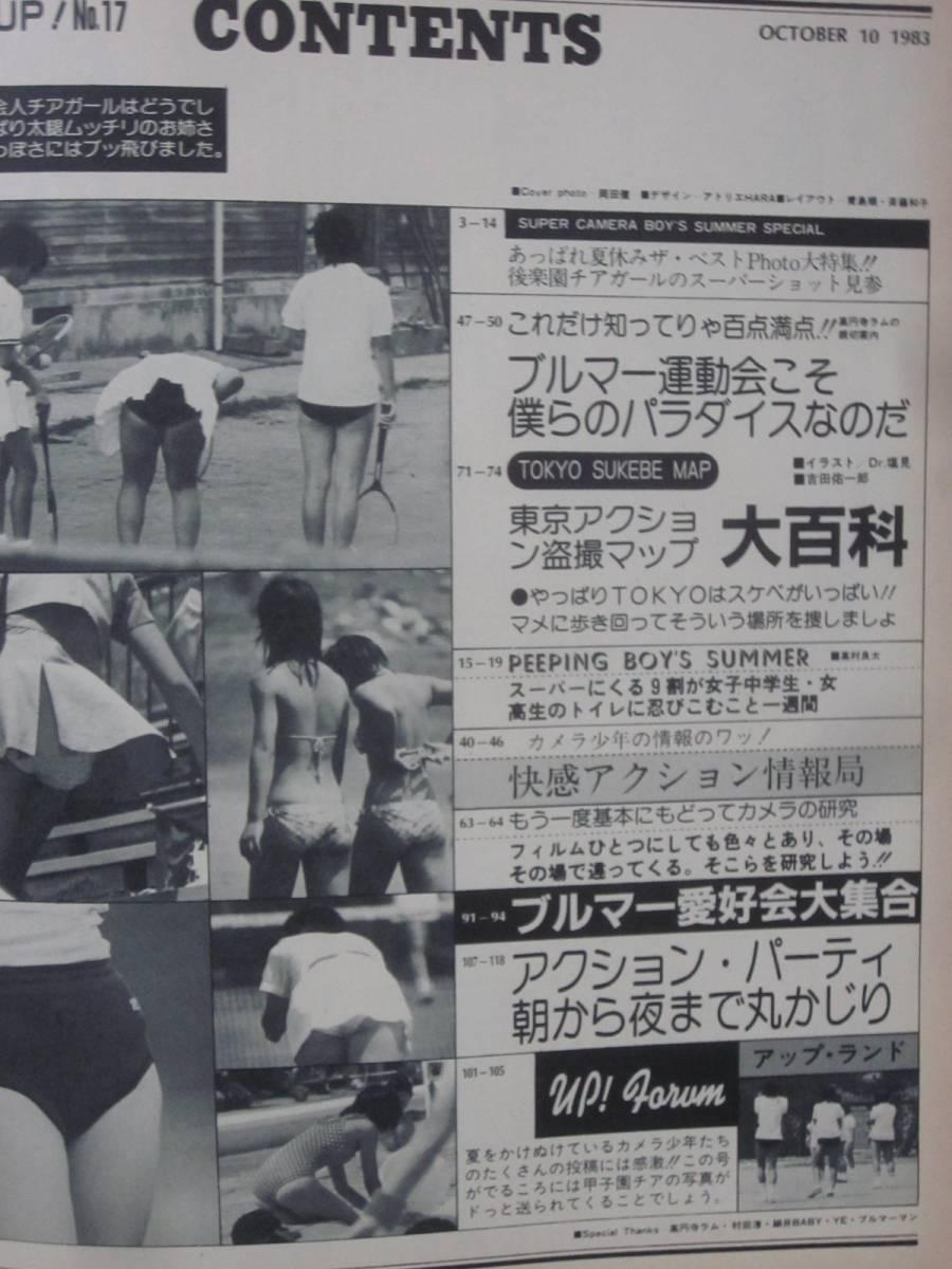 セクシーUP! 1983年10月 社会人チアリーダー 甲子園地区予選 アイドル水泳大会 チアガール パンチラ_画像2