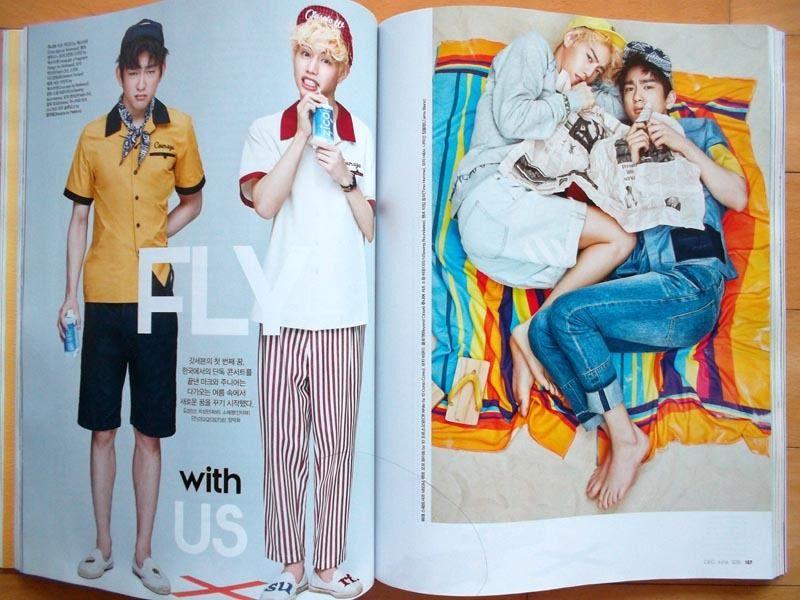 [GOT7 MARK Junior] 韓国雑誌切り抜き8P/2016年6月号 ライブグッズの画像