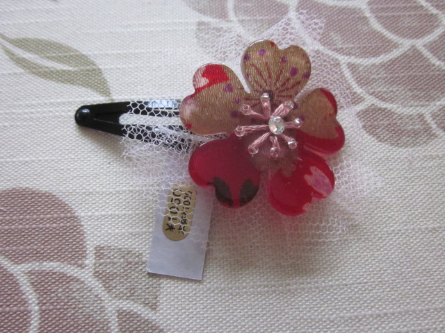 Sakura hair ornament Y1000. commodity r