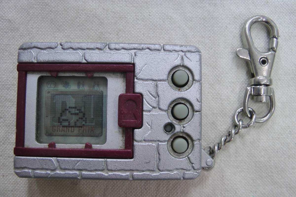 デジモンペンデュラム VER.4 D-1スペシャル シルバー 銀 レッド 赤 D-1 GRAND PRIX D-1 SPECIAL デジタルモンスター バンダイ BANDAI 1997 グッズの画像