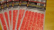 アサヒ スーパードライ 応募シール384枚 東京ドームKANPAI JAPAN LIVE2017 福山雅治 布袋寅泰 コブクロ MAN WITH A MISSION 柴咲コウ
