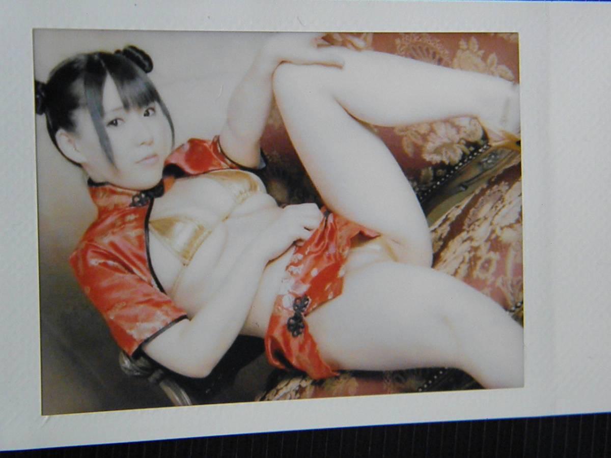 雨宮留菜【チェキ】写真【同梱無料】チャイナ服 水着
