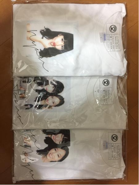 小嶋陽菜 homiesTシャツ 限定 板野友美 前田敦子 BOX付き 3枚セット こじはる