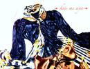 人妻ラグジュアリーSexy系♪スカーフタイ光沢サテンブラウス&高級シルクリボンスカート♪お姉さんOL制服通勤着*コスチューム衣装フェチ