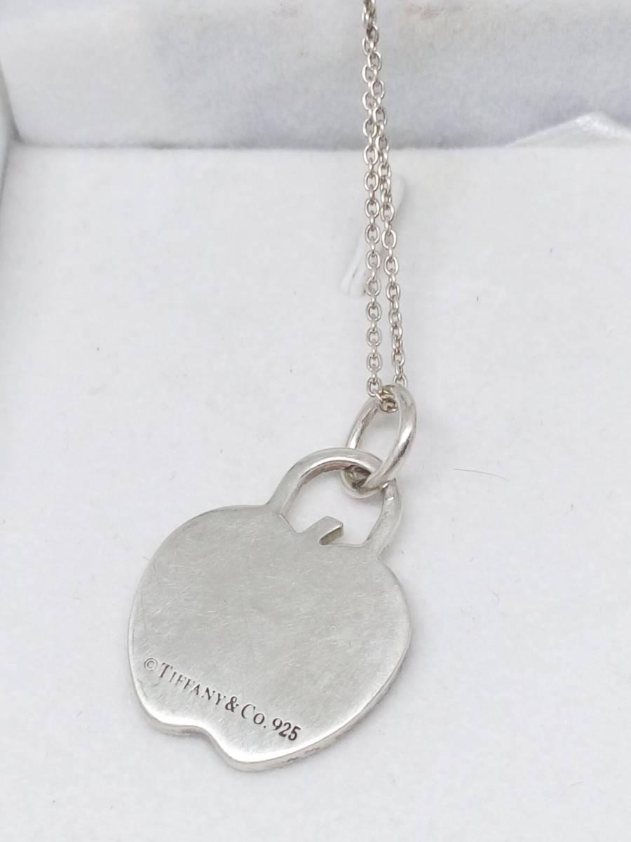 Tiffany&Co.(ティファニー) ネックレス アップル りんご シルバー(SV925)_画像2